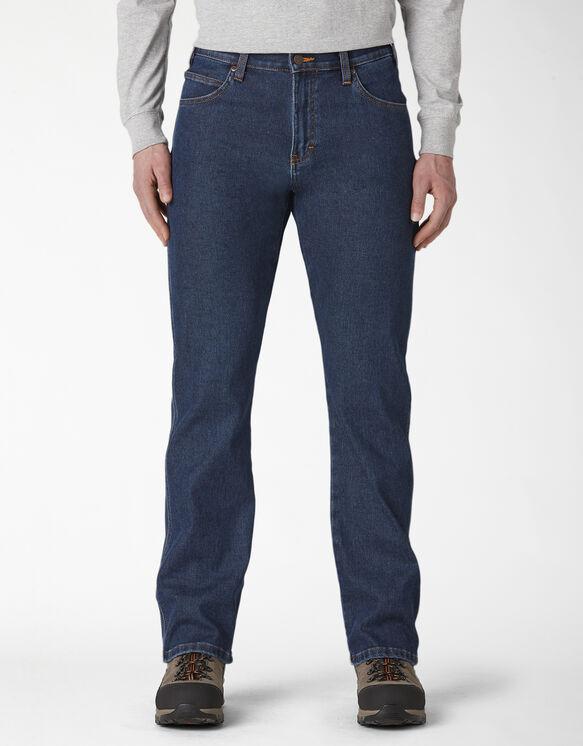 Warming Temp-iQ® Denim Carpenter Jeans - Stonewashed Indigo (SIWR)