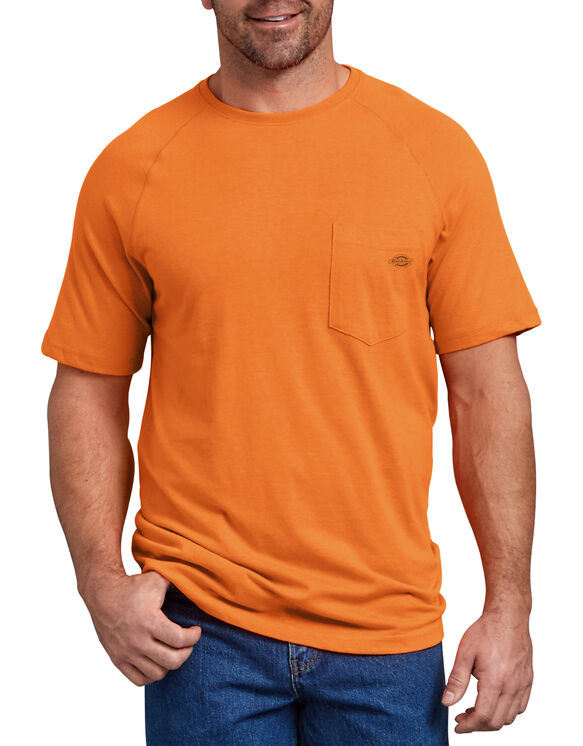 Temp-iQ™ Performance Cooling T-Shirt - Bright Orange (BOD)