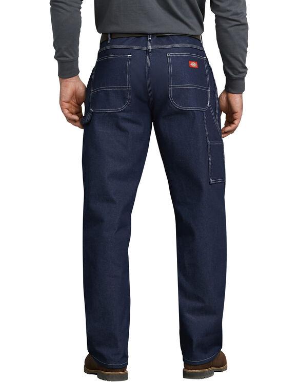 Relaxed Straight Fit Carpenter Denim Jeans - Indigo Blue (NB)
