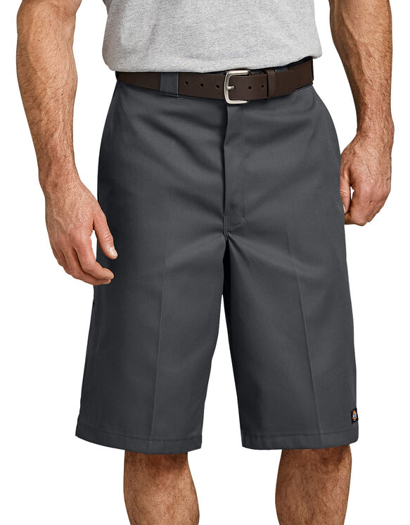 """13"""" Loose Fit Multi-Use Pocket Work Short - Charcoal Gray (CH)"""