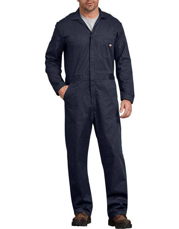 Basic Cotton Coverall - Dark Navy (DN)