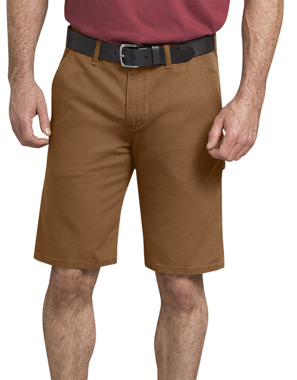 Tough Max Duck Carpenter Short - Stonewashed Brown Duck (SBD)