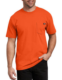 Short Sleeve Heavyweight Crew Neck Tee - Orange (OR)