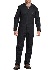 FLEX Long Sleeve Coveralls - Black (BK)