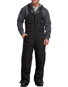 Sanded Duck Insulated Bib Overall - Black (BK)