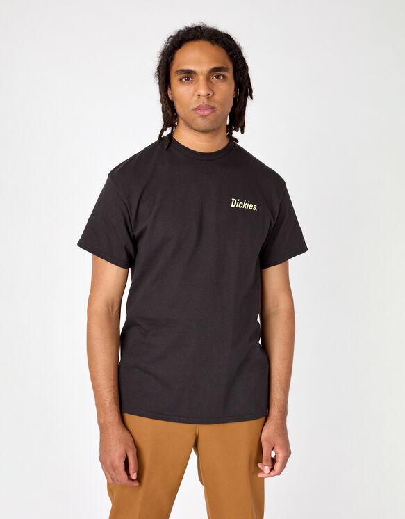 T-shirt de skateboard Dickies avec imprimé Split - Black (BK)