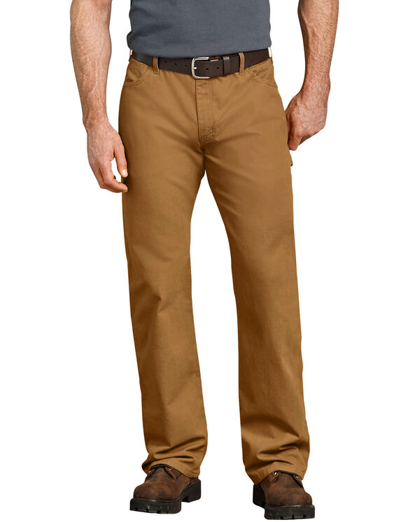Jeans menuisier décontracté à jambe droite en coutil - Brown Duck (RBD)