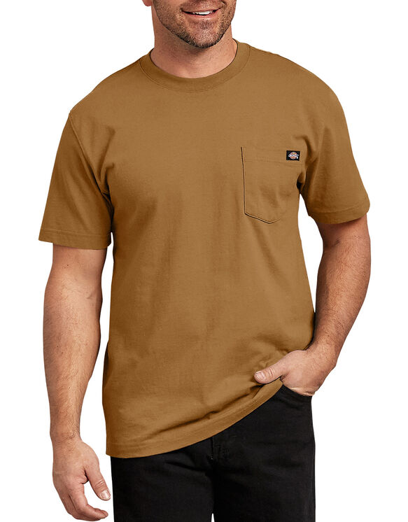 Short Sleeve Heavyweight Crew Neck Tee - Brown Duck (BD)
