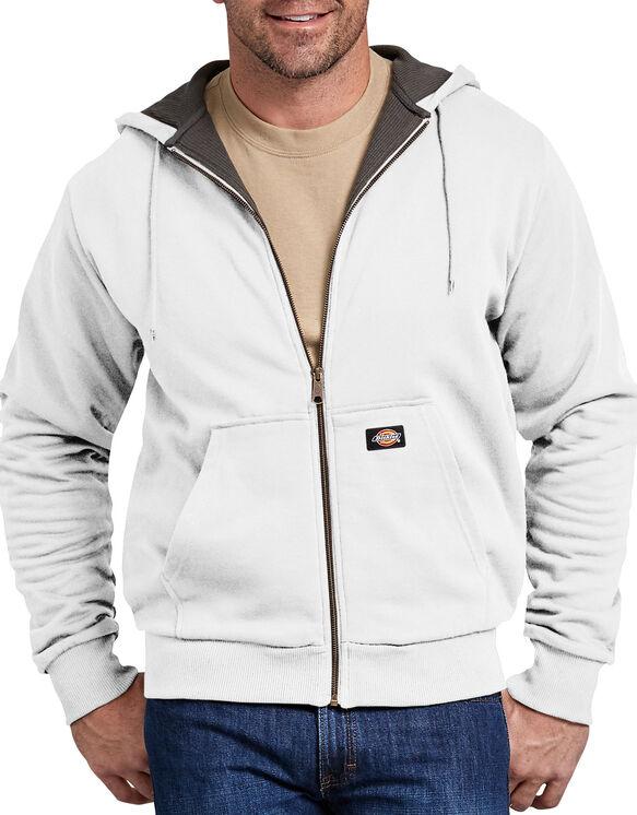 Veste doublée thermique à capuchon - White (WH)