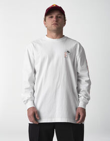 Jaime Foy Signature Collection Long Sleeve T-Shirt - White (WH)