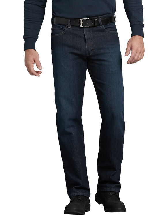 Tough Max™ Regular Fit Straight Leg 5-Pocket Denim Jean - Dark Blue Wash (TDW)