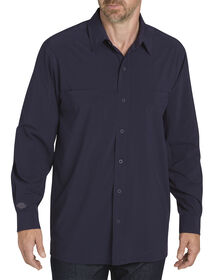 Long Sleeve Cooling Shirt with Xylitol - INK NAVY (IK)