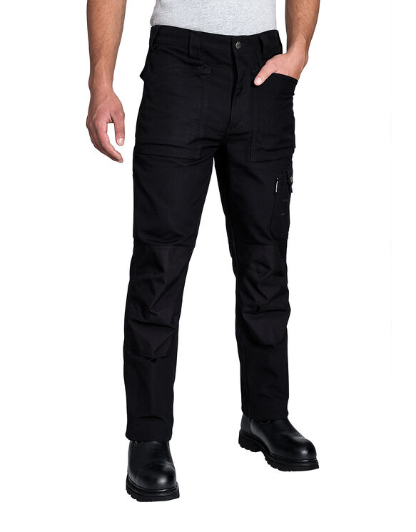 Pantalon de travail d'officier à plusieurs poches - Noir (BK)