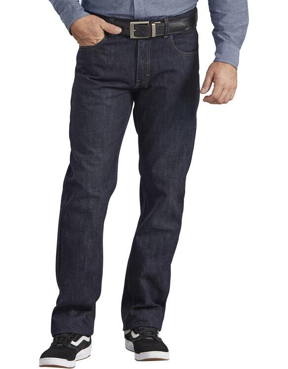 Dickies X-Series Regular Fit Straight Leg 5-Pocket Denim Jean - Dark Indigo Blue (HDI)