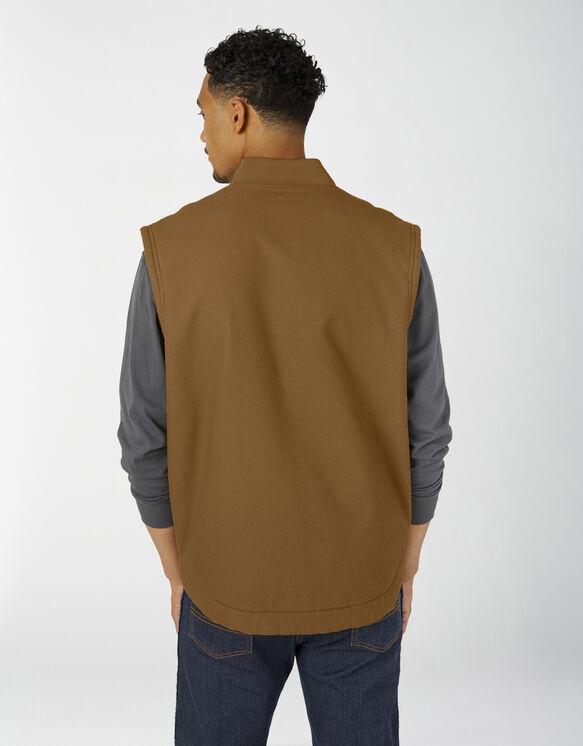 Sherpa Lined Duck Vest - Brown Duck (RBD)