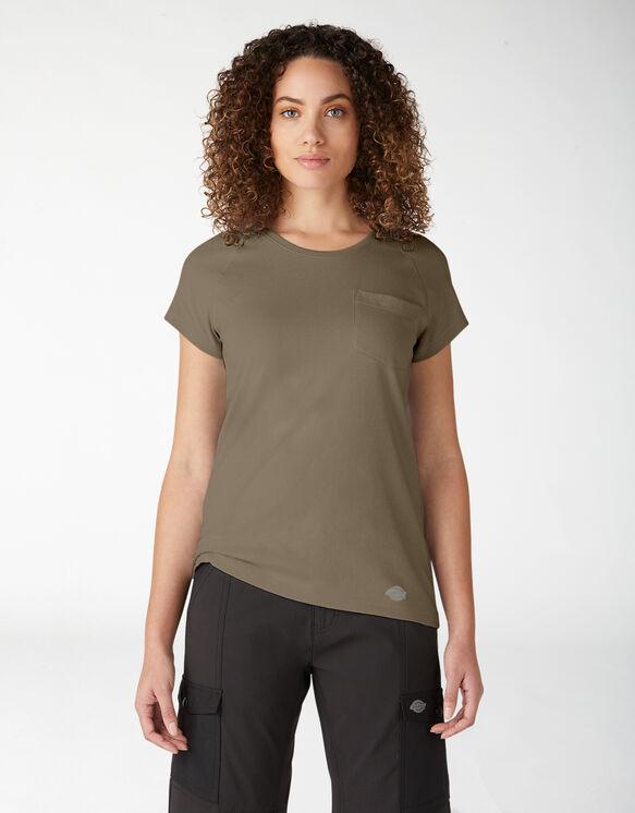 T-shirt Temp-iQ™ Performance pour femmes - Military Green Heather (MLD)