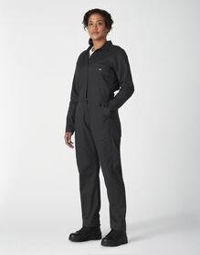 Women's Cooling Temp-iQ® Long Sleeve FLEX Coveralls - Black (BK)