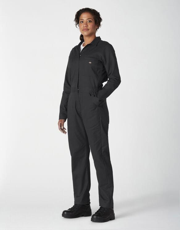 Combinaison à manches longues FLEX Temp-iQ® aérée pour femmes - Black (BK)