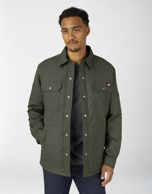 Veste-chemise en coutil souple avec traitement Hydroshield - Olive Green (OG)