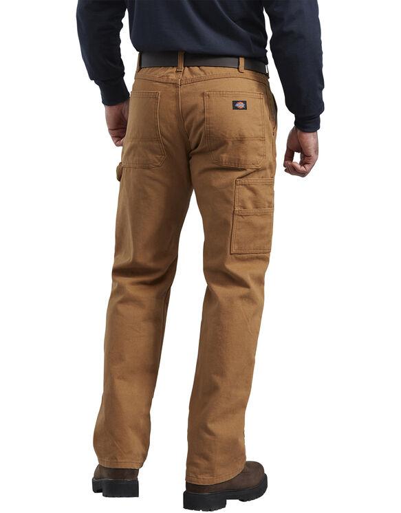 Pantalon en coutil avec panneaux avant doubles fini brossé - Brown Duck (RBD)