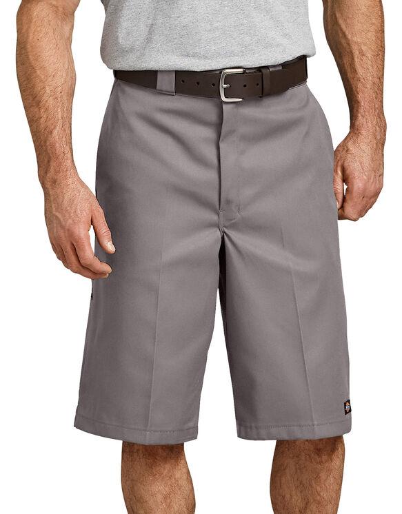 """13"""" Loose Fit Multi-Use Pocket Work Short - Silver (SV)"""