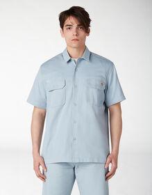 T-shirt de travail adouci par traitement environnementalement durable - Stonewashed Fog Blue (SGF)