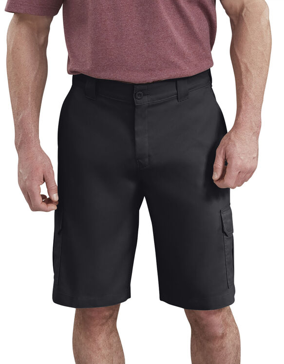 Short cargo à ceinture adaptable de 11 po - Black (BK)