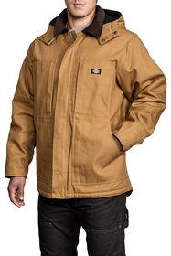 Premium Duck Hooded Jacket - Brown Duck (BD)