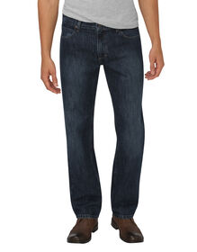 Dickies X-Series Relaxed Fit Straight Leg 5-Pocket Denim Jean - Dark Indigo Blue (HDI)