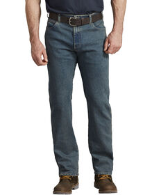 Jeans FLEX de coupe standard à ceinture adaptable et cinq poches - Heritage Tinted Khaki (THK)