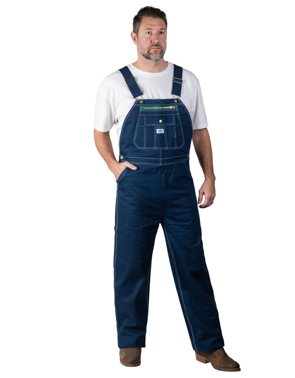 Liberty® Rigid Denim Bib Overalls - Denim Blue (DB9)