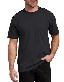 Short Sleeve Heavyweight Crew Neck T-Shirt - Black (BK)