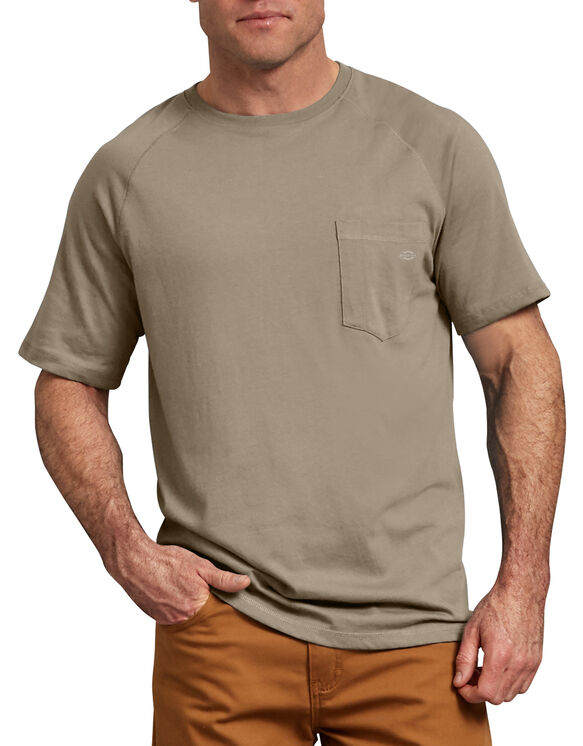 Temp-iQ™ Performance Cooling T-Shirt - Desert Khaki (DS)