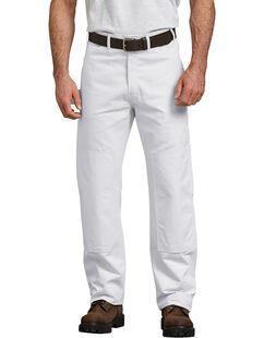Pantalon utilitaire décontracté avec genou doublé - Blanc (WH)