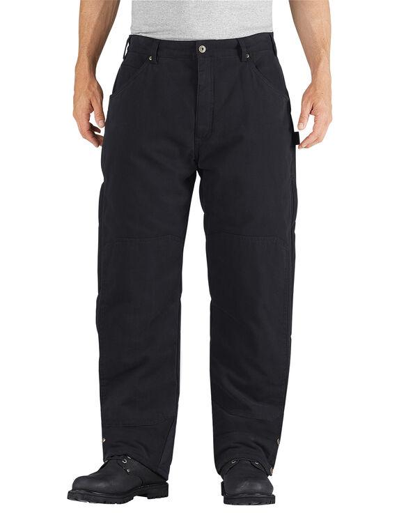 Pantalon isolant en coutil brossé - Noir rincé (RBK)
