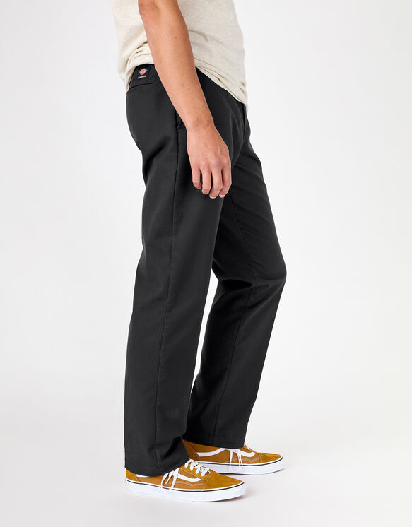 Pantalon ajusté à jambe droite de skateboard Dickies - Black (BK)