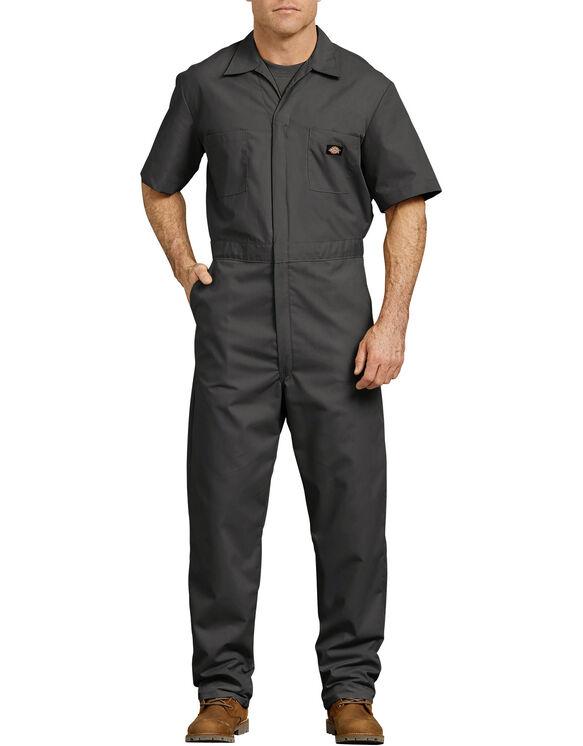 Short  Sleeve  Coverall  - Black (BK)