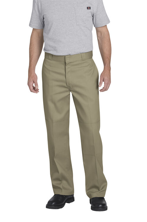 FLEX Loose Fit Double Knee Work Pants - Desert Khaki (DS)