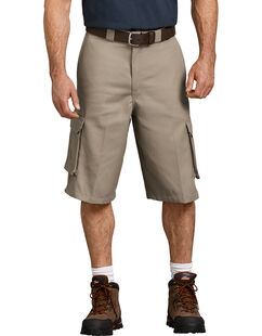 "13"" Loose Fit Cargo Shorts - Desert Khaki (DS)"
