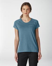 Women's Short Sleeve Cooling Temp-iQ®  Performance T-Shirt - Deep Sky (ESD)