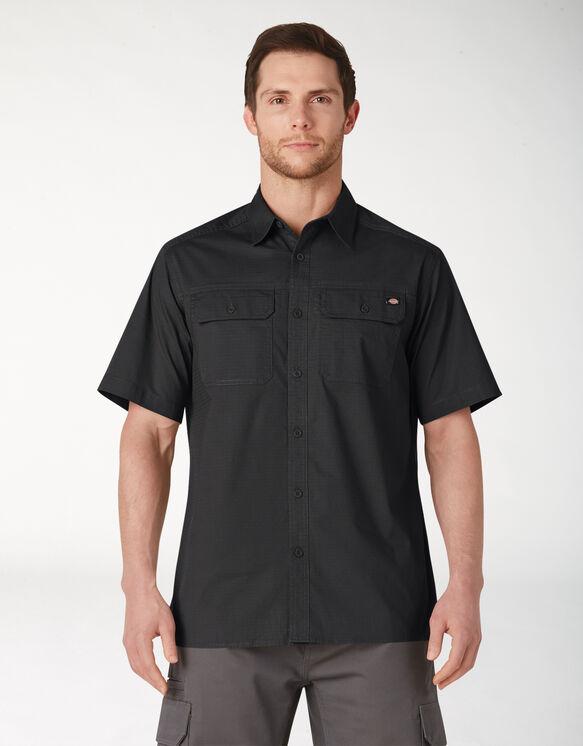 FLEX Short Sleeve Ripstop Shirt - Rinsed Black (RBK)