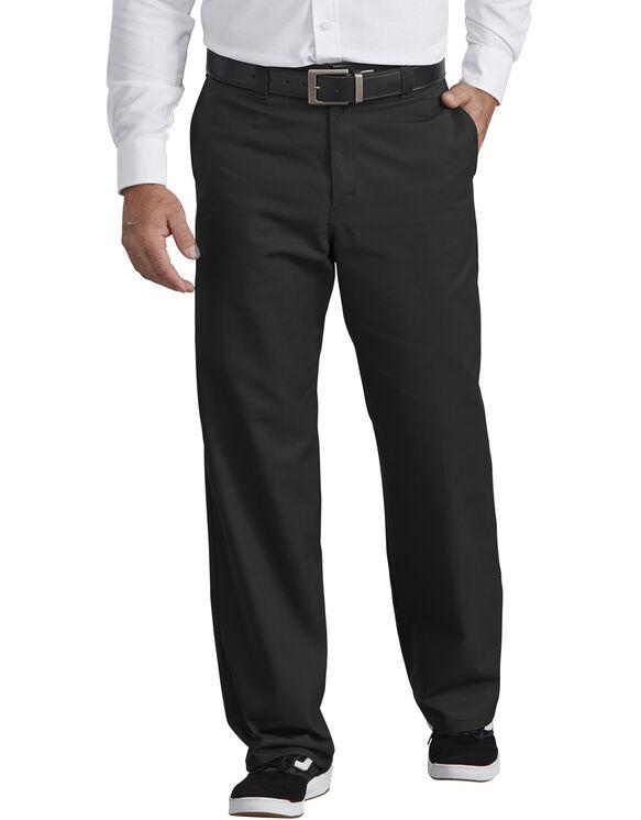 Industrial Flat Front Pant - Black (BK)