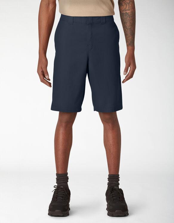 Cooling Temp-iQ™ Active Waist Twill Shorts - Dark Navy (DN)