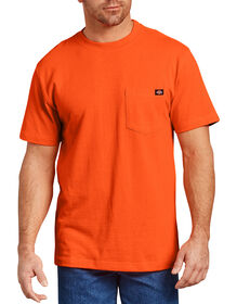 Short Sleeve Heavyweight T-Shirt - BRIGHT ORANGE (BOD)