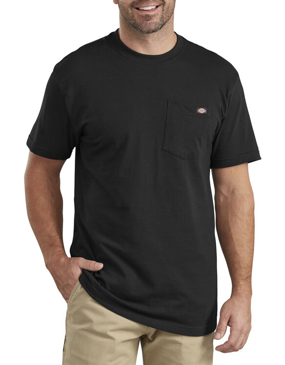 Short Sleeve Pocket T-Shirt - Black (BK)