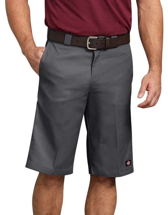 """13"""" Relaxed Fit Multi-Pocket Work Short - Charcoal Gray (CH)"""