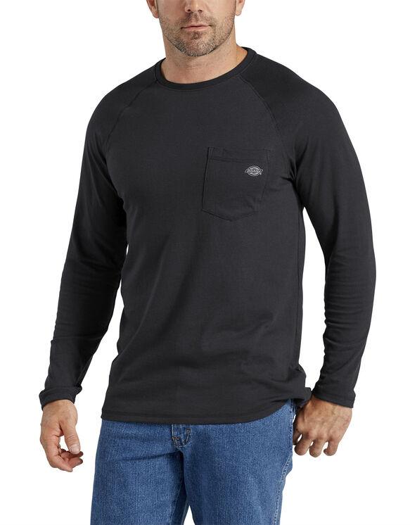 Cooling Temp-iQ® Performance Long Sleeve T-Shirt - Black (BK)