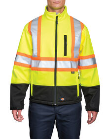 Hi Vis Softshell Jacket - Yellow (YL)