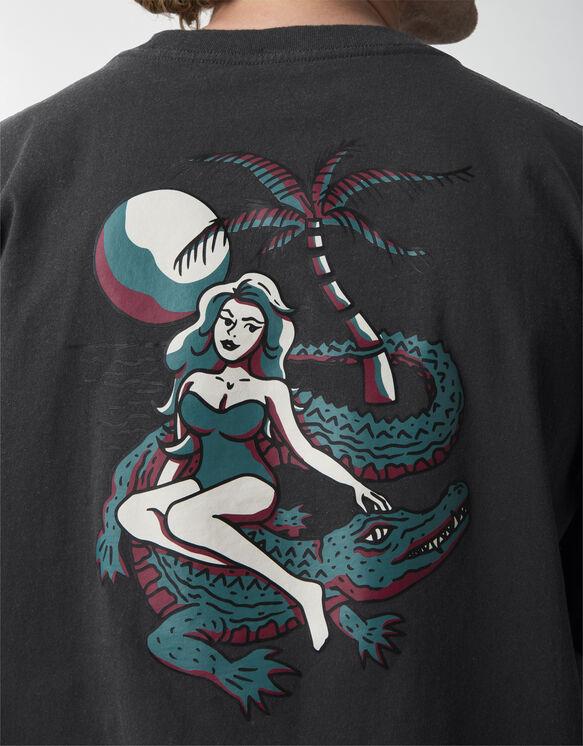 T-shirt à manches courtes JamieFoy - Black (BK)