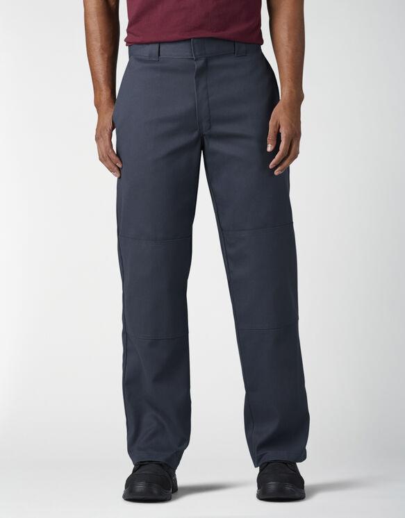 FLEX Loose Fit Double Knee Work Pants - Dark Navy (DN)